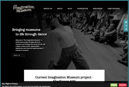 The Imagination Museum dance and museums project