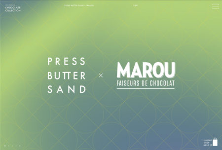 PRESS BUTTER SAND CHOCOLATE COLLECTION